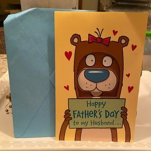 3/$5 Husband Father's Dad Card